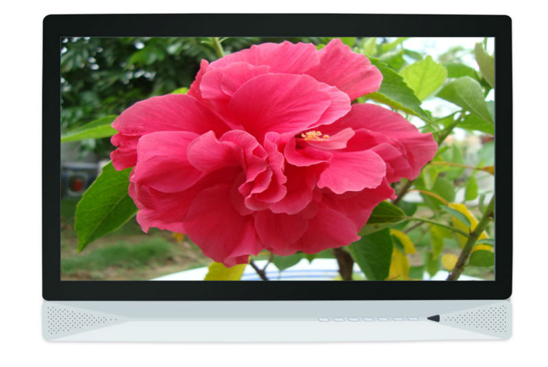 21.6 inch lcd all in one computer touch screen with Intel Atom D525 Dual Core 1.8GHz