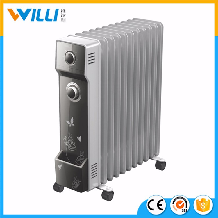 rempli d 39 huile portable radiateur rechargeable lectrique radiateur de chauffage chauffage. Black Bedroom Furniture Sets. Home Design Ideas