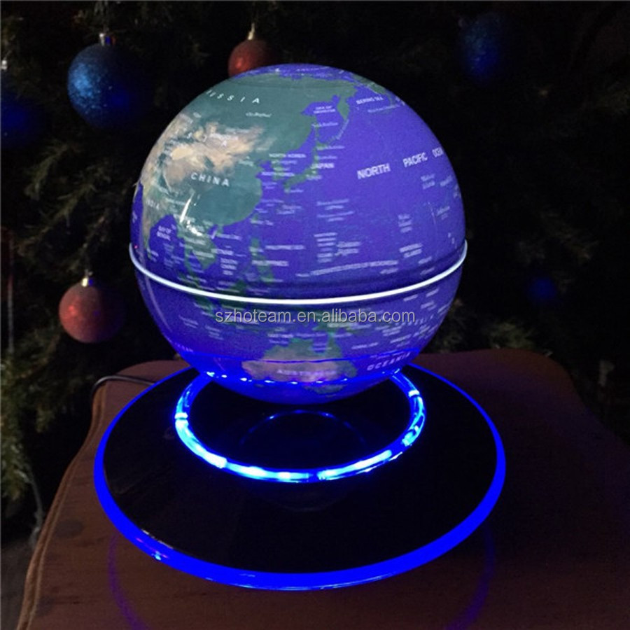 Customized Led Magnet Floating Earth Display Stand