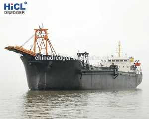 China HICL dredger shipyard 300t river sand barge/mini sand pumping barge  (CCS certificate)