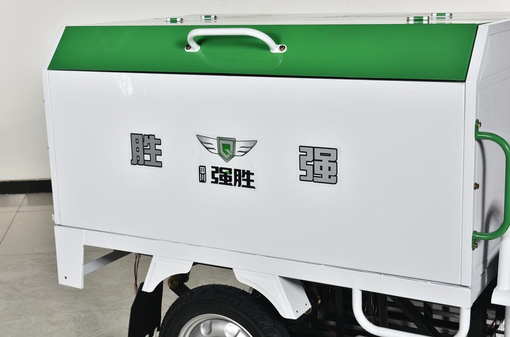 2019 three  wheels cargo tricycle garbage rickshaw electric cargo loader