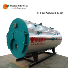 Automation WNS gas fired boiler steam making machine