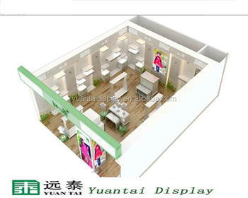 298bad7bfbd2 Fancy Children's Clothing Store Layout Design With Lighting - Buy ...
