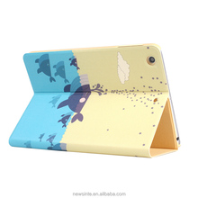 Factory price for ipad mini cover leather case for ipad mini