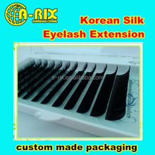 private label soft and natural eyelash extension professional salon lashes extension