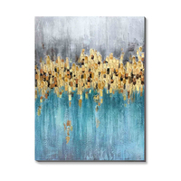 Modern Abstract Graceful Art Oil Painting On Canvas For Hall