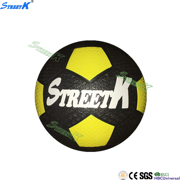 Streetk Brand promotional rubber soccer balls size 5 wholesale football soccer ball