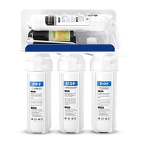 5 stages Wall-mounted reverse osmosis water filter