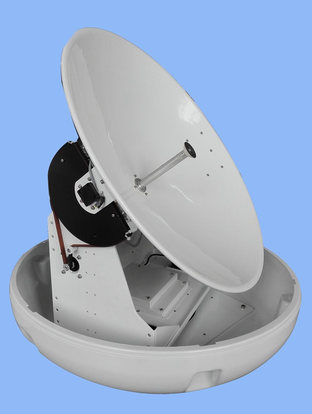 marine satellite TV antennaYM-750PM ,mobile satellite tv antenna