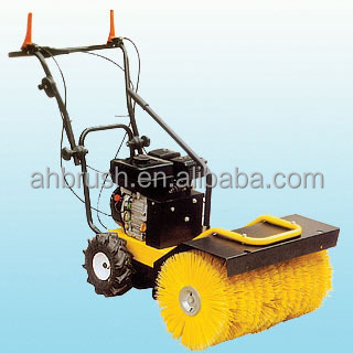 Snow Electric Sweeper Gas Powered Broom Gasoline Snow