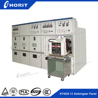 High voltage distribution switch cabinet for power distribution KYN28 incoming and outgoing switchgear panel
