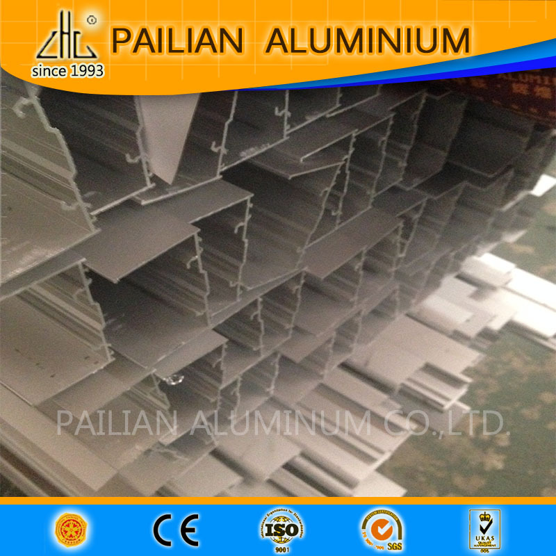 Hot Foshan purity of 99.9% ingot aluminum alloy ladder extrusion profiles folding aluminium ladder parts aluminuim ladder price
