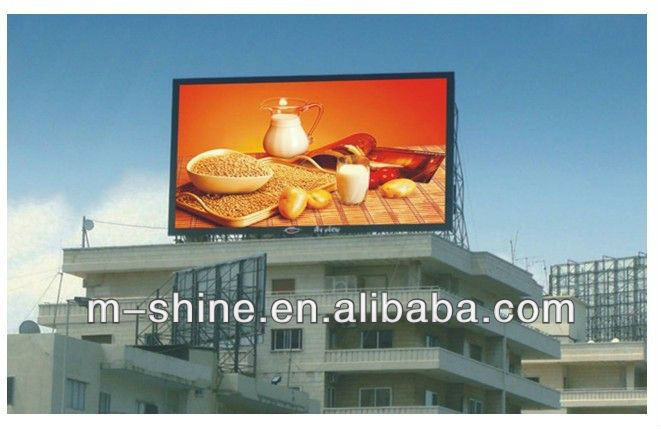 Best Seller of Outdoor Indoor Full Color LED Advertising Display Work With Famous Material Suppliers