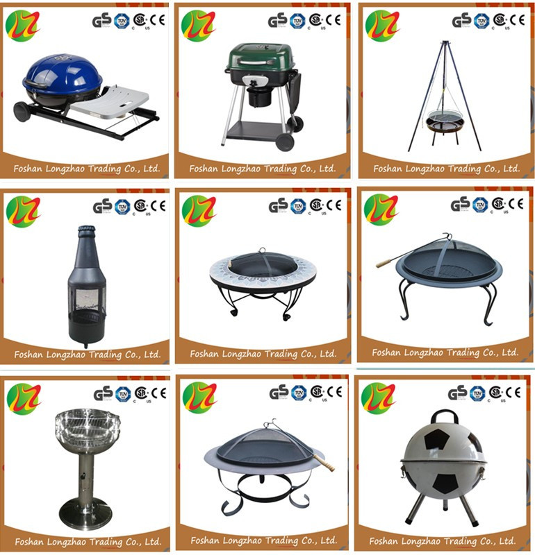Hot Selling stainless steel Large BBQ folding Charcoal Grill