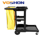 Hospital Janitorial Cart, Hotel Housekeeping Clean Trolley Cart
