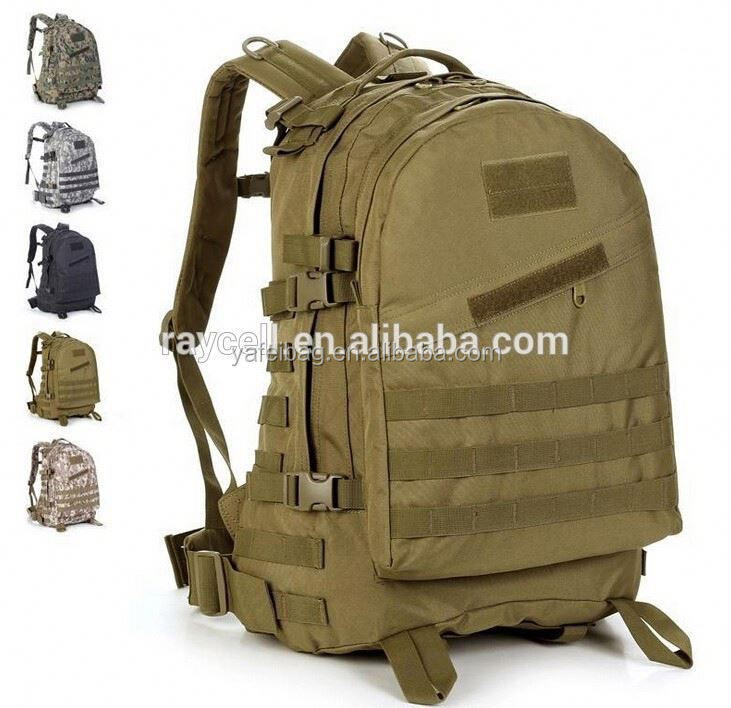 professional manufacturer customized Camouflage Tactical Military Backpack camouflage military backpack