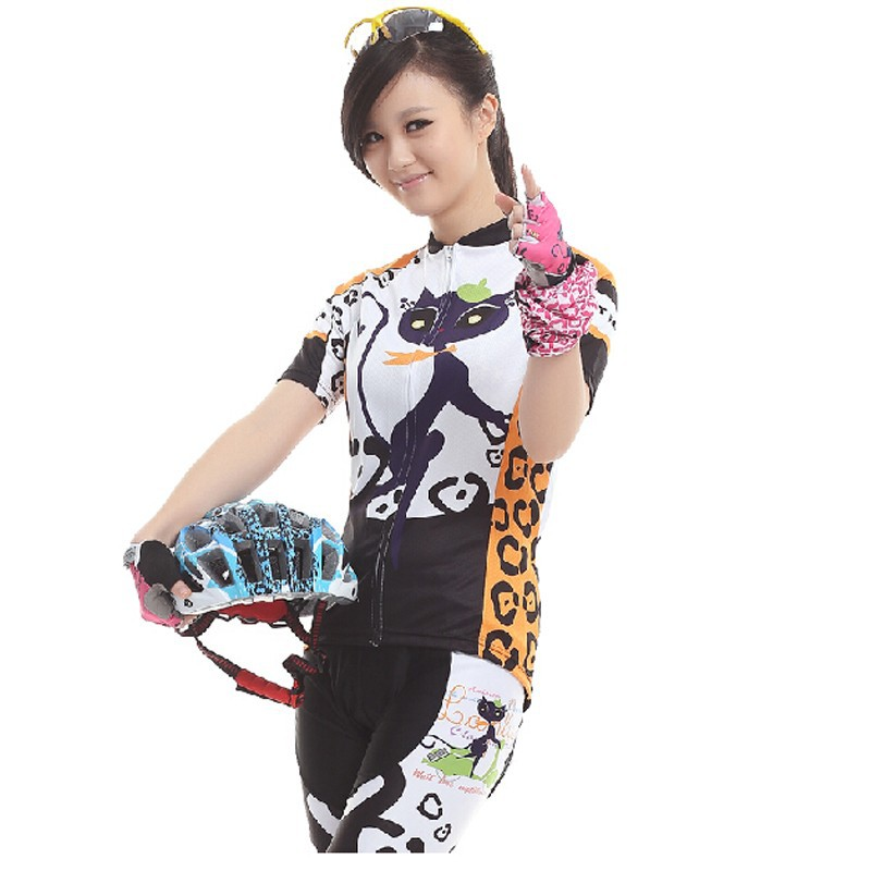 501070bc7 Wholesale Women S Cycling Clothing Cat Girl Bike Bicycle Short ...