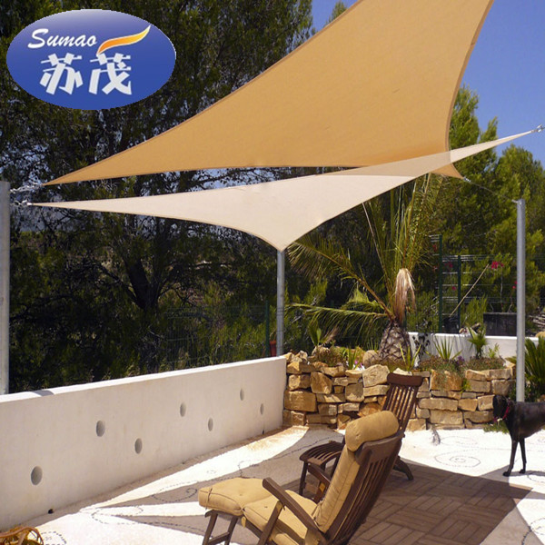 Hot Selling Ocean Blue Patio Sun Shade Sail Canopy With Low Price