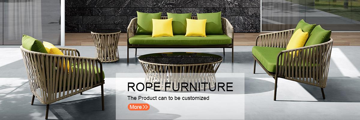 99f167b98047 Mr.Dream waterproof luxury hilton hotel aluminum rope out door garden  furniture