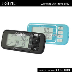 Factory Directly Sell Digital Multifunction Pedometer Auto Body Clips