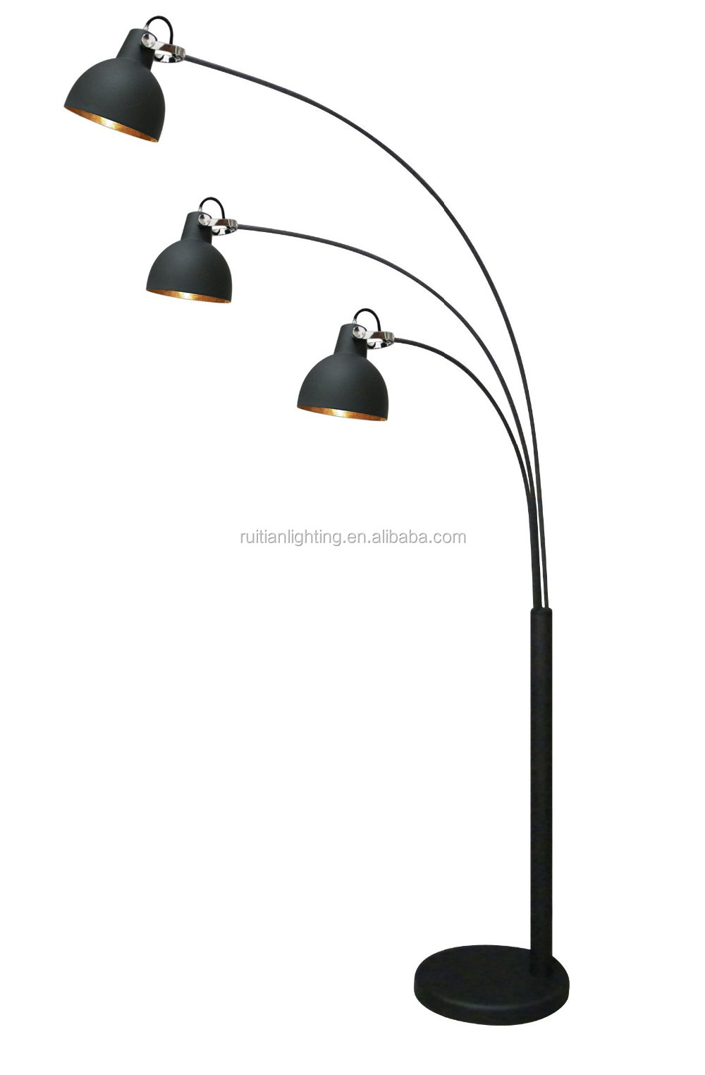 Simple Design Downlight Floor Lamps Standing Black Or Customized ...