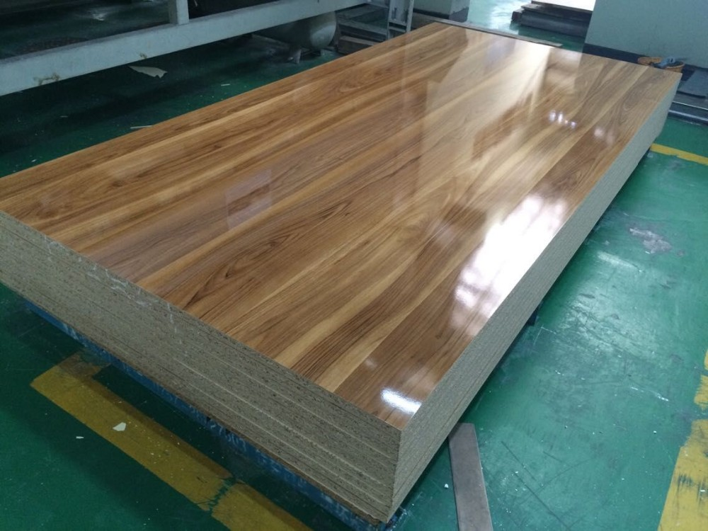Kitchen Cabinets Particle Board High Gloss Melamine