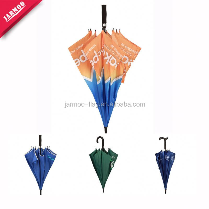 Custom Printing Good Quality Outdoor Hotel With Umbrella Hole Custom Umbrellas With Logo