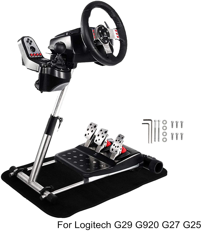 c448a3d3329 Mophorn Racing Wheel Stand Adjustable Gaming Wheel Stand for Logitech G25  G27 G29 and G920 Racing