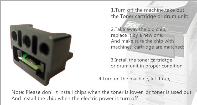 for sharp mx c311 c380 cartridge mx-c38 toner chip
