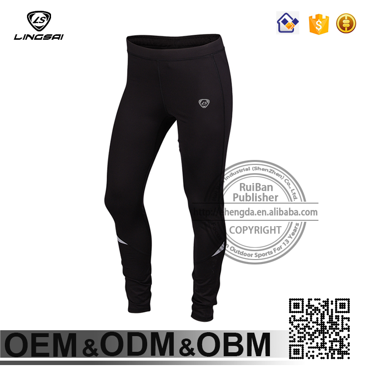 OEM men blank compression trousers sport tights pants