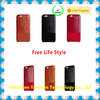 New product cow leather flip cover case for samsung galaxy j5
