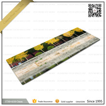 Custom print anti-fatigue yoga mats factory
