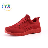 2018 Wholesale shoes OEM service breathable lace up sport sneaker shoes wangdu shoes