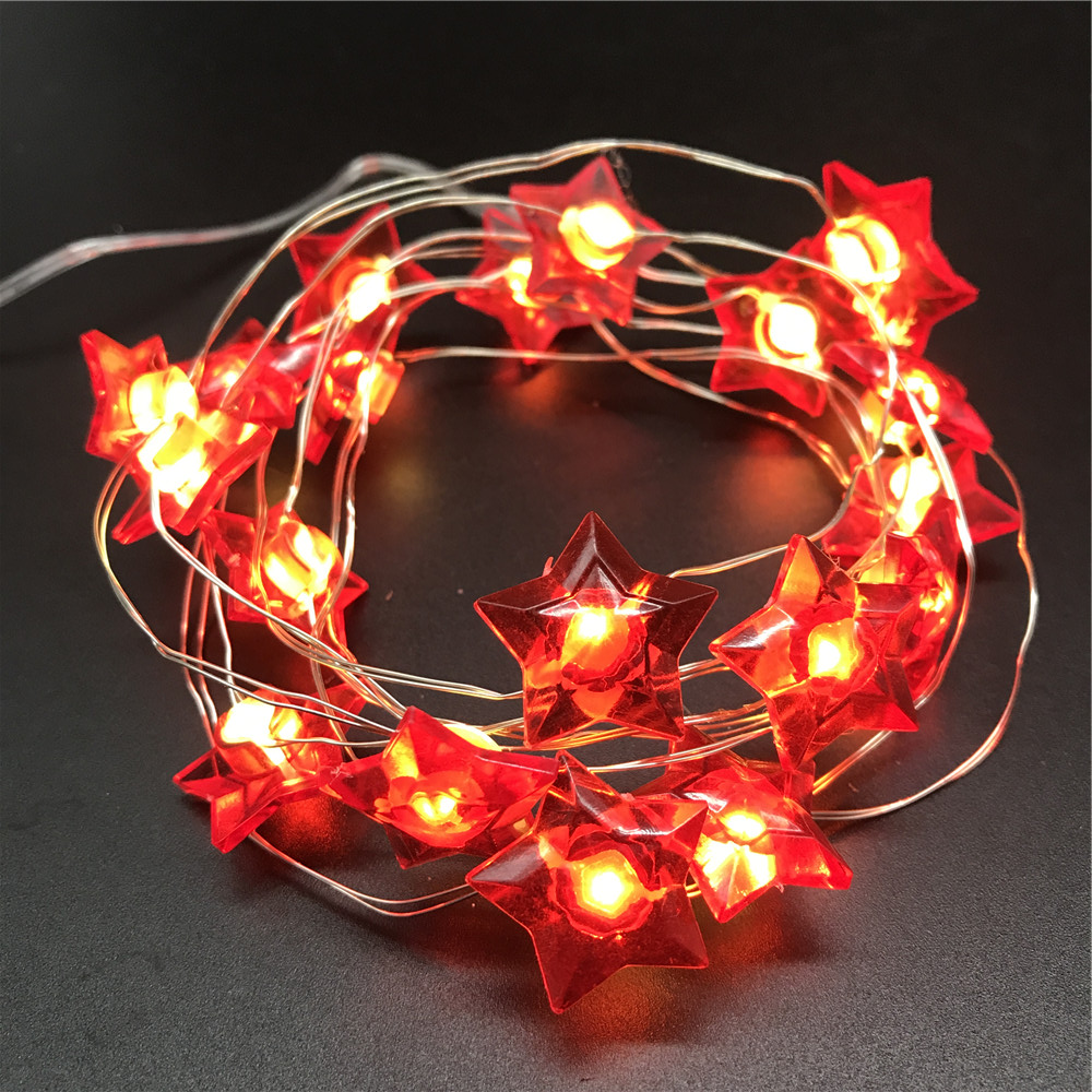 Outdoor holiday decorations laser star christmas led string light on sale