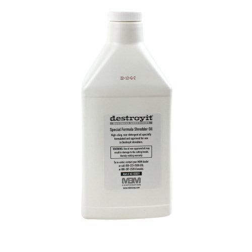 MBM DestroyIt Shredder Oil - 1 Quart Bottle (6pk) [Electronics] [Electronics]