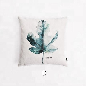 Ginzeal 2018 New Design Blank Printed Pillow Cushion Cover