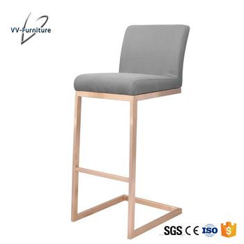 China Manufacturer Kitchen Naomal Fabric Golden High Chair Bar Stool - Buy  High Bar Stool,Kitchen High Chair,Golden Bar Stool Product on Alibaba.com