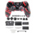 Full Housing Shell Case Skin Cover Button Set With Full Buttons Mod Kit Replacement Red+Black For PS4 Controller