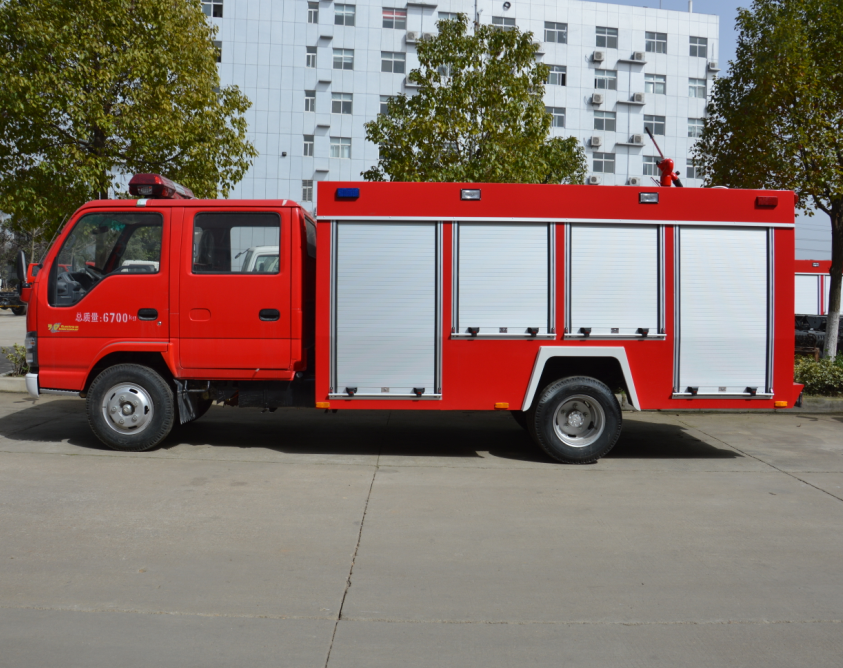 New Japanese Brand Mini Pumper Fire Truck Hydraulic Ladder Fire Truck for Sale