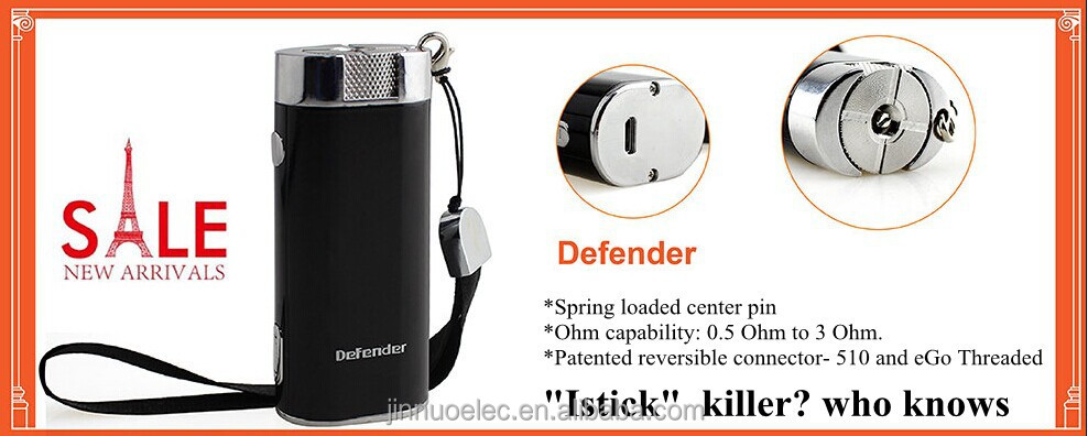Joecig Patents Defender Powerful 2600mah Ecig Battery Electronic ...