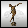 high quality nude woman bronze relief sculpture wall decoration
