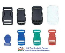 Various customized plastic buckles lanyard accessories
