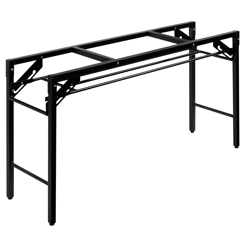 पोर्टेबल धातु स्टील तह टेबल पैर