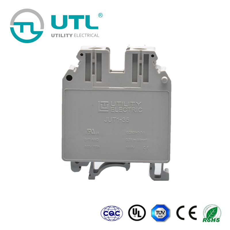 Utl Electrical Wiring Connectors Uk Terminal Blocks Cable Joint Jut1-35 on