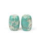Sea Sediment Jasper Loose Bead Snakeskin Color DIY Buddhism Product Finding Barrel Drum Shape Natural Stone Beads