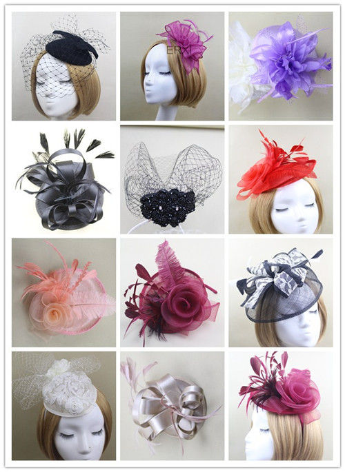 Wholesale Alibaba Party Fancy Sinamay Base Fascinator Hat Made in China 163dfebf3c28