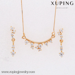 62307 Xuping latest design 18k gold color ethiopian gold jewelry