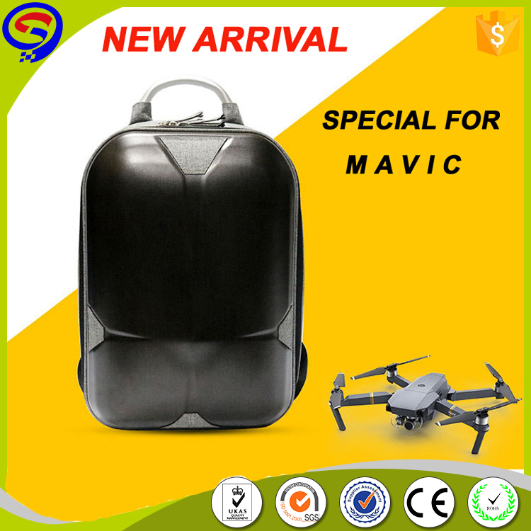 New arrival hard shell dji mavic pro drone carry backpack