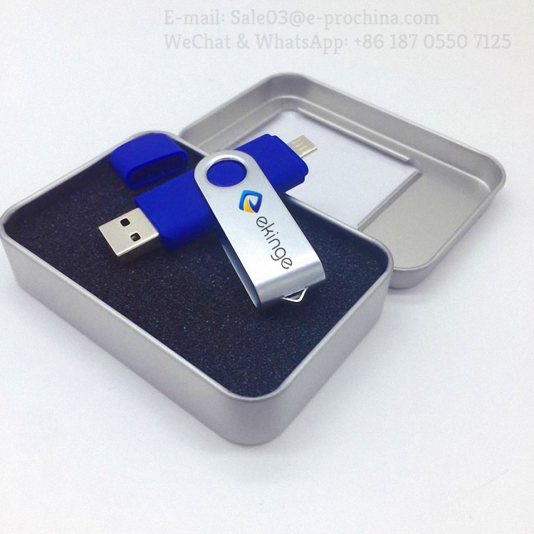 Fast Speed 32GB 64GB 128GB OTG USB Flash Drive For Android Phone USB 2.0 Smartphone Memory Stick