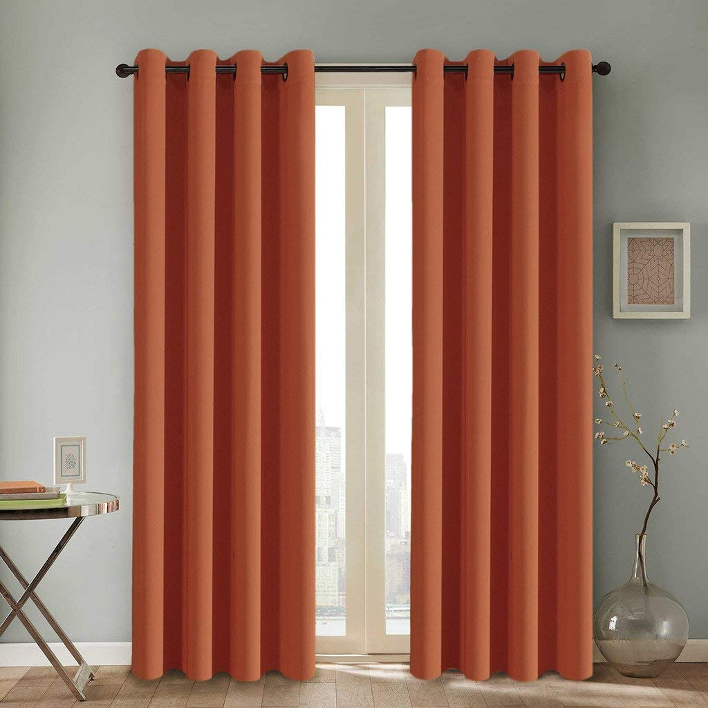 Get quotations · h versailtex thermal insulated blackout room darkening nursery baby care curtainsgrommet panels